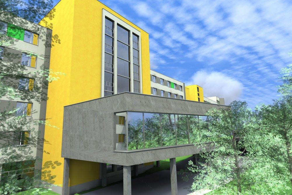 Stavba jednopodlažní parkování